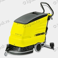 Компактная поломойно-всасывающая машина Karcher (Керхер) BD 530 XL BAT Pack