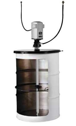 534610 Установка для раздачи консистентной смазки, солидолонагнетатель SAMOA, Испания.