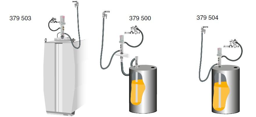 Комплекты для установки масляных пневматических насосов PUMPMASTER 4.