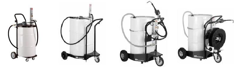 Мобильные установки для раздачи масла с насосом PUMPMASTER 2-3:1.