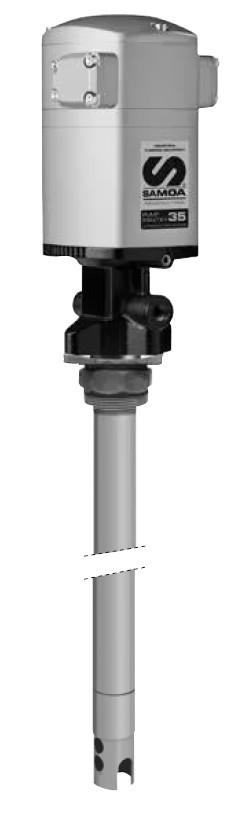PUMPMASTER 35 - 60:1, пневматический насос для консистентной смазки SAMOA, арт. 530610