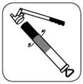 Шприцы SAMOA: установка картриджа.