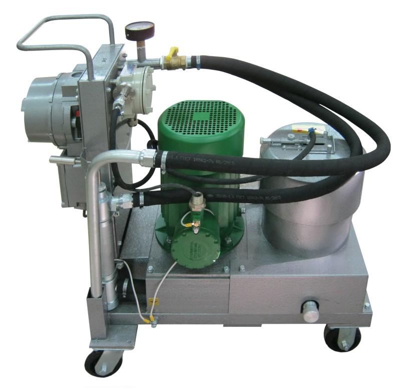 СОГ-932 стенд для очистки жидкостей - масел, дизтоплива, керосина