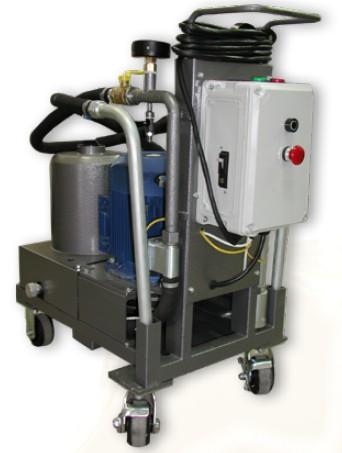 СОГ-935 С1 передвижной стенд для очистки жидкостей.