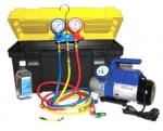 Устройство SMC-041, -042 для вакуумирования и заправки систем кондиционирования