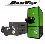 Воздухонагреватели DanVex на отработке