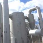 Установка УУН-0,8 для сжигания отходов