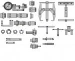 Комплект оснастки для ремонта двигателей BOSCH (P)  М-607
