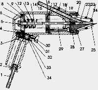 Пистолет для ошиповки шин EPK8