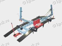 Стапель кузовной правки СК-1
