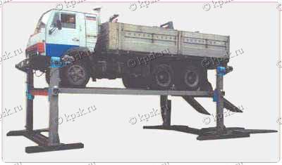 Платформенный автомобильный подъемник ПЛ10