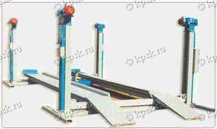Платформенный автомобильный подъемник ПЛ-5 и ПЛ-5-30