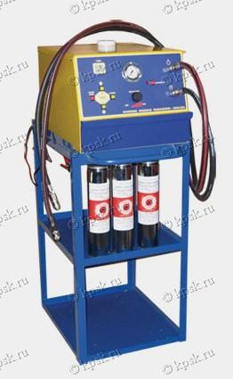 SMC2001ED стенд для очистки и диагностики топливных систем впрыска бензиновых и дизельных двигателей