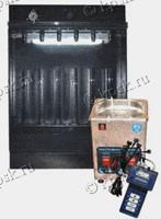 Стенд SMC 302/302E c пневматическим управлением предназначен для тестирования и промывки инжекторов с ультразвуковой ванной