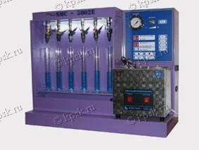Стенд SMC 3002E+ NEW предназначен одновременно для тестирования и промывки до 12 инжекторов (6 диагностика + 6 тестирование), а также для жидкостной очистки топливных систем впрыска бензиновых и дизельных двигателей без их разборки