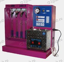 Стенд SMC 3001Е NEW/3001 NEW предназначен для очистки и тестирования одновременно до 8 инжекторов (4 очистка + 4 тестирование)