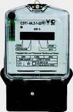 Однофазные многотарифные счетчики электроэнергии СЭТ1-4А