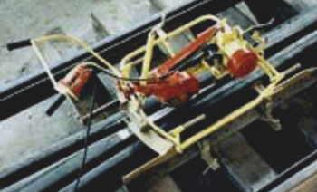 Станок 2152 для шлифования элементов верхнего строения пути