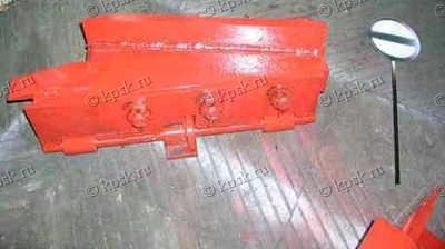 Сбрасывающий башмак КСБ-Р (колесосбрасыватель) с ручным приводом