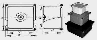 Коробки протяжные У994-У997