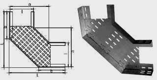 Секции угловые НЛ-У20, НЛ-У40