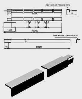 Секции троллейные К580-К589