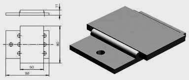 Планка сталеалюминиевая У1040У1