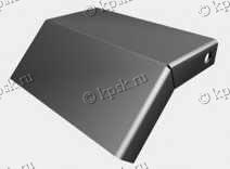 Крышки (КЛП) для поворота трассы вниз под углом 45°