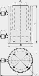 Цилиндры силовые (ЦС Х Г Y)