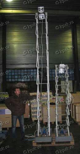 Установка специальная осветительная ОУГ ГУЛИВЕР предназначена для освещения рабочего места при проведении аварийно-спасательных, строительных и других работ