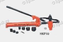Выбивной гидравлический дырокол HKP10 предназначен для проделывания отверстий на электр. контр. панелях и стальных пластин