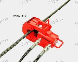 Тросорез пневматический предназначен для резки проволочного каната диаметром от 38 мм до 90 мм, и стального прутка диаметром от 25 мм до 50 мм