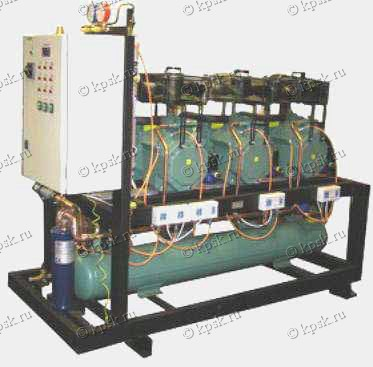 Агрегаты холодильные компрессорно-конденсаторные с полугерметичным поршневым компрессором с воздушным охлаждением конденсатора фирмы BITZER (Германия)