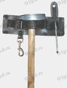 """КРАБ"" подвеска электрика (натуральная кожа) Размер 25х7,5 см"