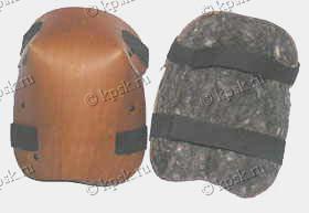 """""""МАЙНА"""" наколенники (натуральная кожа, войлок) Размер 17х20 см"""