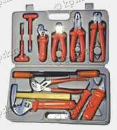 Набор слесарного инструмента №5а с изолирующим покрытием рукояток (НИЗ)