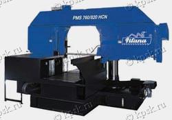 Полуавтоматический ленточнопильный станок по металлу PMS 760/820 HCN
