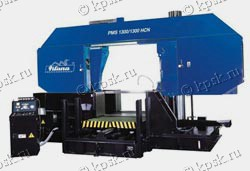 Полуавтоматический колонный ленточнопильный станок по металлу PMS 1300/1300 HCN