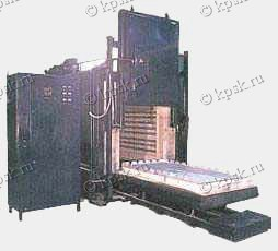Печи электрические с выдвижным подом для закалки и отжига ПВП