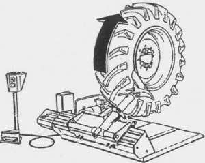 Шиномонтажный стенд Ш-515-Е