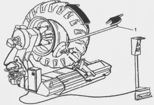 Шиномонтажный станок Ш 515 Е