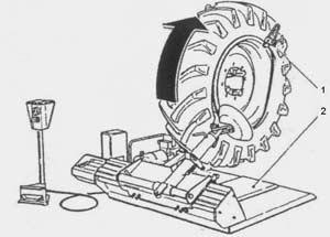 Шиномонтажный станок Ш-515 Е