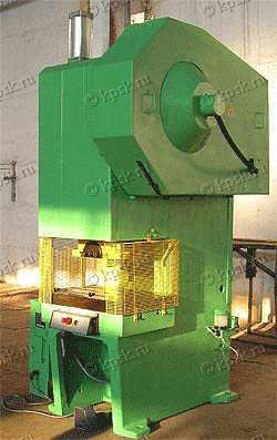Прессы КИ-2128 КИ-2328 КИ-1428 однокривошипные открытые простого действия усилием 630 кн