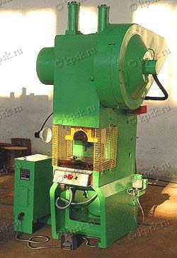 Прессы КД-2124К КД-2324К однокривошипные открытые простого действия усилием 250 кн.
