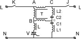 Функциональная схема стабилизатора напряжения «Протон»-СНФ