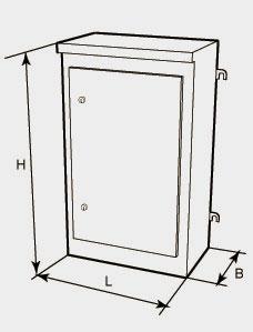 Структура  условного  обозначения пунктов распределительных серии ПР-8503