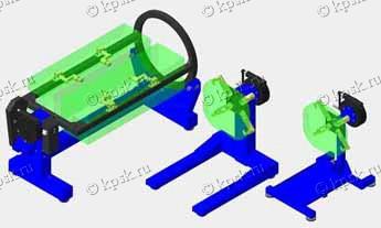 Стенд для обкатки v-образных двигателей, Р-770, Р-776