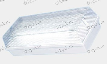 Светильник ЛБО20 Универсал разработан для аварийного освещения в помещениях с повышенной влажностью и запыленностью