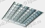 Светильник ARS/R встраивается в подвесные потолки Армстронг или в подшивные потолки из гипсокартона, с помощью клипс