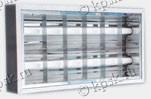 Область применения светильников накладных потолочных - офисные и торговые помещения